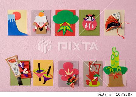 クリスマス 折り紙 折り紙 お正月 : pixta.jp