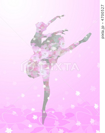バレエ バレリーナ 桃色 壁紙 ピンクの写真素材 Pixta