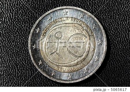 ドイツのユーロ硬貨 海外の写真...