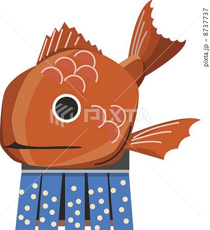 お魚くんのイラスト素材 Pixta