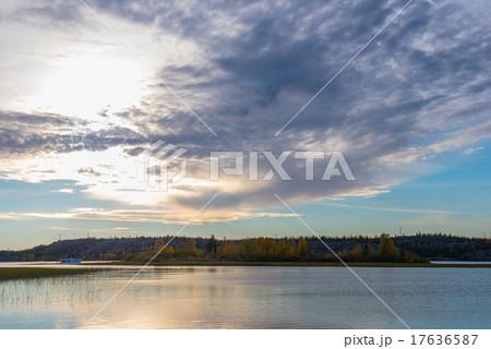 グレートスレーブ湖の写真素材 [...