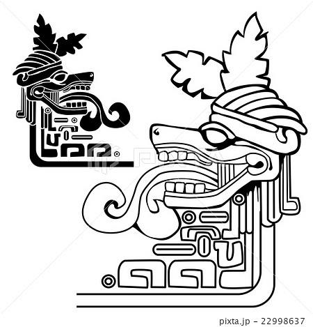 Man Symbol Icon Hieroglyphics Inca Illustrations Pixta