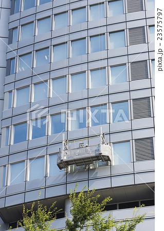 六本木ヒルズ ビル 窓 清掃の写真素材 Pixta