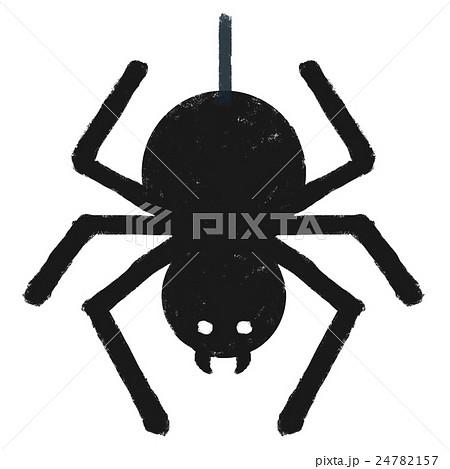 アイコン シルエット 挿絵 蜘蛛のイラスト素材 Pixta