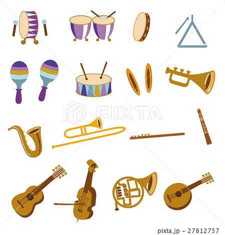管楽器のイラスト素材 Pixta