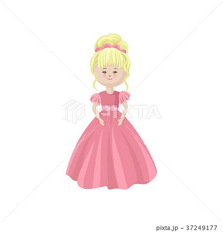 人形 お姫さま プリンセス 姫のイラスト素材 Pixta