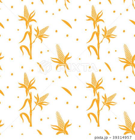 麦の穂のイラスト素材 pixta