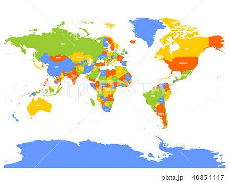 Mirrored Map Of The World.Mirrored Illustrations Pixta