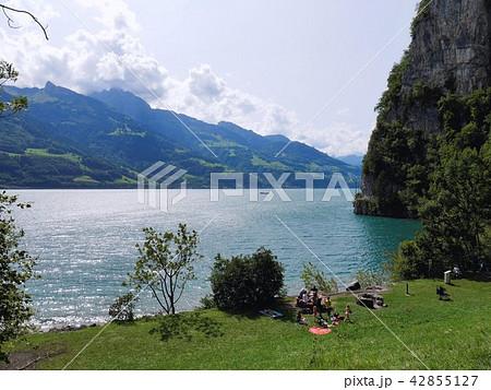 ヴァレン湖の写真素材 - PIXTA