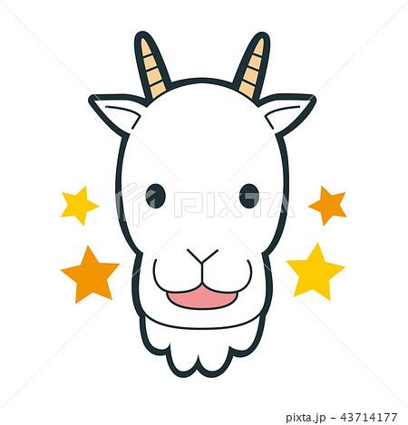 ヤギ山羊のイラスト素材集 Pixtaピクスタ